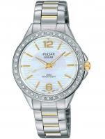 Ceas: Ceas de dama Pulsar PY5011X1 Solar Swarovski 32mm 5ATM