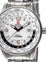 Ceas: Ceas barbatesc Swiss Military SM34007.02 GMT-Worldtimer 41mm 5ATM