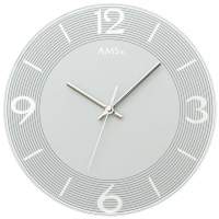 Ceas: Ceas de perete AMS 9571 modern - Serie: AMS Design