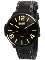 Ceas: CEAS BARBATESC U-BOAT 8108 - MECANISM SCUFUNDAT COMPLET IN ULEI 45 mm