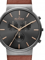 Ceas: Ceas barbatesc Skagen SKW6418 Ancher Chrono 40mm 5ATM