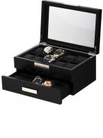 Ceas: Rothenschild Uhrenbox RS-2350-20BL für 20 Uhren black