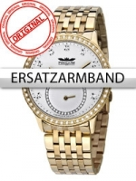 Ceas: Curea de ceas Perigaum Edelstahl P-1311 gold