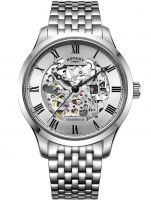 Ceas: Ceas barbatesc Rotary GB02940/06 Greenwich Automatic 42mm 5ATM