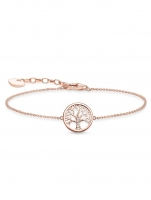 Ceas: Thomas Sabo Armband Tree of Love A1828-416-14 16-19cm