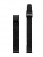 Ceas: Cluse Ersatzband CLS504 [12 mm] schwarz m. schwarz Schließe