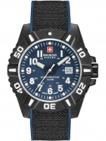Ceas: Swiss Military Hanowa 06-4309.17.003 Black Carbon Herren 44mm 10ATM