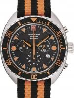 Ceas: Ceas barbatesc Swiss Alpine Military 7066.9639 Turtle Cronograf 44mm 10ATM