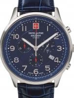 Ceas: Ceas barbatesc Swiss Alpine Military 7084.9535 Cronograf 43mm 10ATM