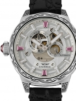 Ceas: Ceas Unisex Haemmer RD-200 Rebellious Pink Passion  AUTOMATIC EDITIE LIMITATA 99 BUCATI  45mm 10ATM