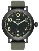 Ceas: Ceas barbatesc AVI-8 AV-4067-03 Lancaster Bomber 44mm 5ATM