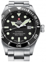 Ceas: Ceas barbatesc Swiss Military SM34060.01 Autom. 44mm 50ATM