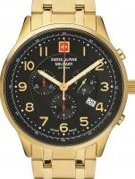 Ceas: Ceas barbatesc Swiss Alpine Military 7084.9117 Cronograf 43mm 10ATM