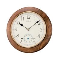 Ceas: Ceas de perete Seiko QXA432B ( LEMN + SECUNDAR )
