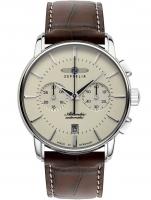 Ceas: Ceas barbatesc Zeppelin 8422-5 Atlantic Automatic Cronograf 42 mm 5ATM