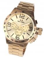Ceas: Ceas barbatesc TW-Steel CB104 Canteen Bracelet Cronograf 50mm 10ATM