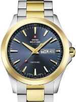 Ceas: Swiss Military by Chrono SMP36040.28 sapphire men`s 42mm 5ATM