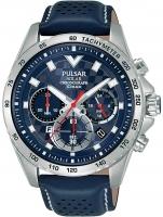 Ceas: Ceas barbatesc Pulsar PZ5107X1 Solar Cronograf 45mm 10ATM