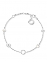 Ceas: Thomas Sabo Charm Armband Perlen X0273-167-14 15-19cm