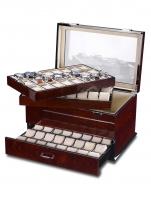 Ceas: Cutie ceasuri Lemn Rothenschild [72) RS-5073-BLW Exclusive-Line Pentru 72 Ceasuri