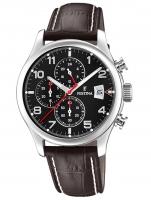 Ceas: Ceas barbatesc Festina F20375/6 Timeless Cronograf 43mm 10ATM