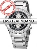 Ceas: Curea de ceas Perigaum Edelstahl P-1310 Flightmaster silber