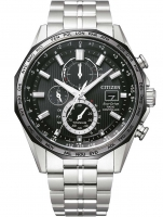 Ceas: Citizen AT8218-81E Eco-Drive Funkuhr Chronograph 43mm 10ATM