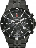 Ceas: Ceas barbatesc Swiss Alpine Military 7022.9177 Cronograf 42mm 10ATM