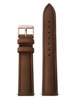 Ceas: Cluse Ersatzband CLS002 [18 mm] braun m. rosé Schließe