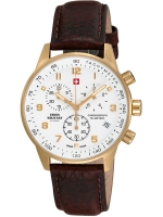 Ceas: Ceas barbatesc Swiss Military SM34012.07 Cronograf 5 ATM, 41 mm