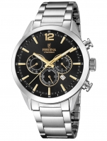 Ceas: Ceas barbatesc Festina F20343/4 Timeless Cronograf 43mm 10ATM