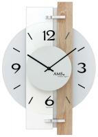 Ceas: Ceas de perete AMS 9557 modern - Serie: AMS Design