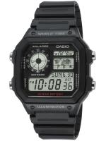 Ceas: Ceas barbatesc Casio AE-1200WH-1AVEF Collection Cronograf 10 ATM 42 mm