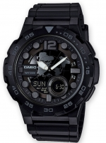 Ceas: Ceas barbatesc Casio AEQ-100W-1BVEF Collection  48mm 10ATM