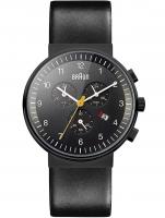 Ceas: Ceas barbatesc Braun BN0035BKBKG Cronograf 40mm 5ATM