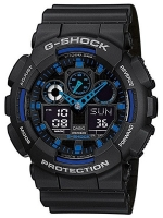 Ceas: Ceas barbatesc Casio Herrenuhr G-Shock GA-100-1A2ER 51 mm
