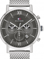 Ceas: Ceas barbatesc Tommy Hilfiger 1710396 Even Dual-Time  44mm 5ATM