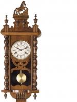 Ceas: Ceas de perete Pendul Mecanic ( Rezerva 31 Zile ) Gallo Horse 06102HORS55110