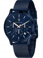 Ceas: Ceas barbatesc Maserati R8873618010 Blue Edition Cronograf 42mm 10ATM