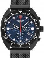 Ceas: Ceas barbatesc Swiss Alpine Military 7066.9175 Turtle Cronograf 44mm 10ATM