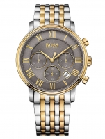 Ceas: Hugo Boss 1513325 Elevated Classic Chrono bicolor 42mm 3ATM