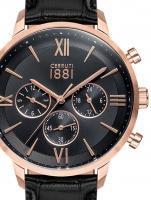 Ceas: Ceas barbatesc Cerruti CRA23401 Denno Cronograf  43mm 10ATM