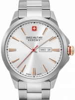 Ceas: Ceas barbatesc Swiss Military Hanowa 06-5346.04.001 Day Date Classic 45mm 10ATM