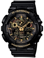 Ceas: Ceas barbatesc Casio GA-100CF-1A9ER G-SCHOCK Cronograf 20 ATM 51 mm