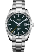 Ceas: Rotary GB05176/24 Henley GMT men`s 40mm 10ATM