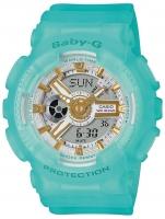 Ceas: Ceas de dama Casio BA-110SC-2AER Baby-G  43mm 10ATM