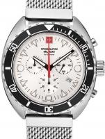 Ceas: Ceas barbatesc Swiss Alpine Military 7066.9132 Turtle Cronograf 44mm 10ATM