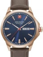 Ceas: Ceas barbatesc Swiss Military Hanowa 06-4346.02.003 Day Date Classic 45mm 10ATM