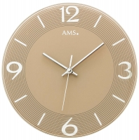 Ceas: Ceas de perete AMS 9572 modern - Serie: AMS Design
