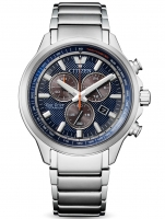 Ceas: Ceas barbatesc Citizen AT2470-85L Super-Titan Eco-Drive Cronograf 40mm 10ATM